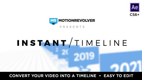 SYNOPSIS   Instant Corporate Timeline is a great way to showcase your company's beginnings, history, or previous year of business. You'll have a professional looking timeline project in just a fe...
