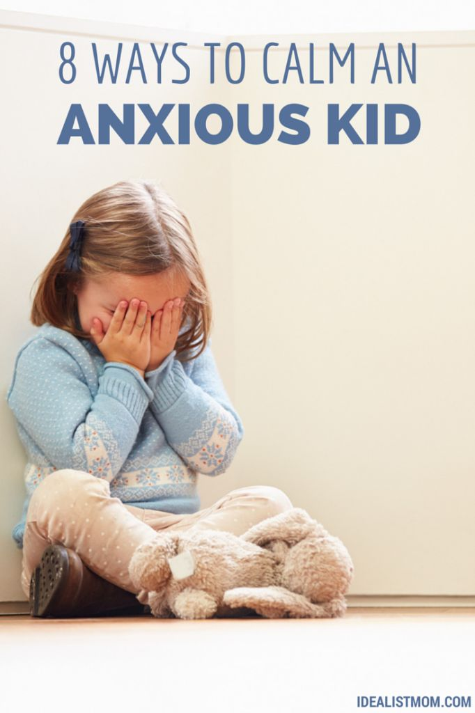 Does your kid get anxious or scared? These research-backed tips will help calm their anxiety - and help them manage their OWN stress.