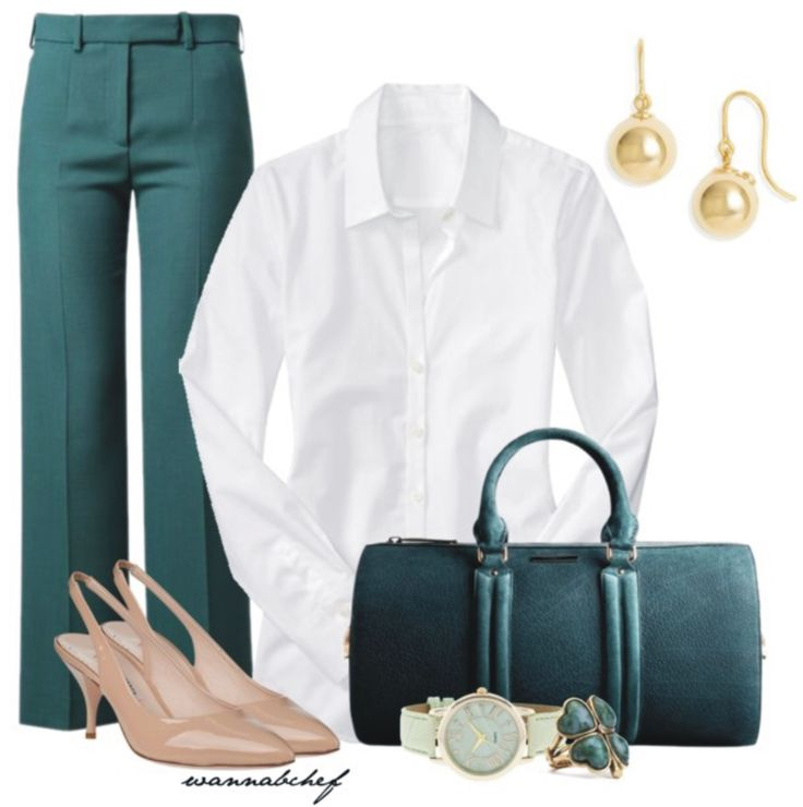 The perfect business casual outfit.