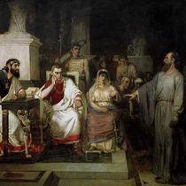 Cуриков. Апостол Павел объясняет догматы веры, 1875, Третьяковская галерея