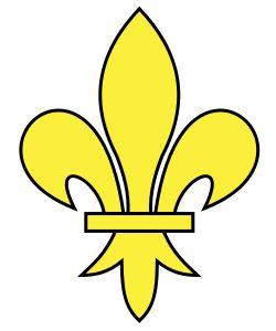 Héraldique meuble Fleur de lys lissée - Fleur de lys — Wikipédia