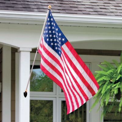 American Flag Displayed On Any House Improves Its Curb Appeal By At Least 100%