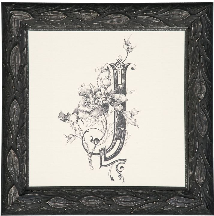 Easy way to transform a monogram into a work of art! Add a @larsonjuhl #BiltmoreForYourHome frame for instant sophistication. Buy a frame thru Dec. 31, 2014 and be rewarded with free #Biltmore tickets.