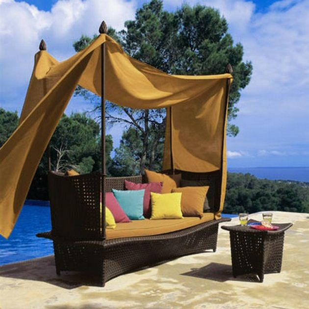 Outdoor Bed Canopy 46 best outdoor canopy beds images on pinterest | outdoor spaces