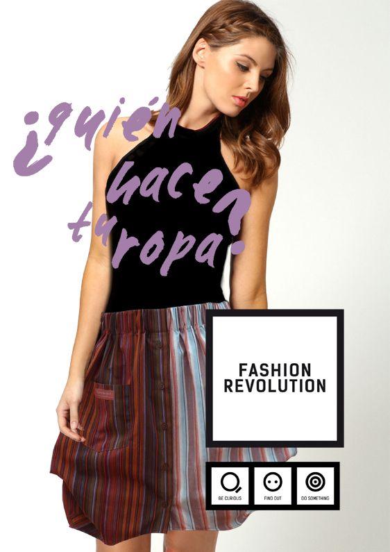 Be! 24.04 Associació Moda Sstenible Barcelona Fashion Revolution Day #pasarelasostenible #insideout #whomadeyourclothes