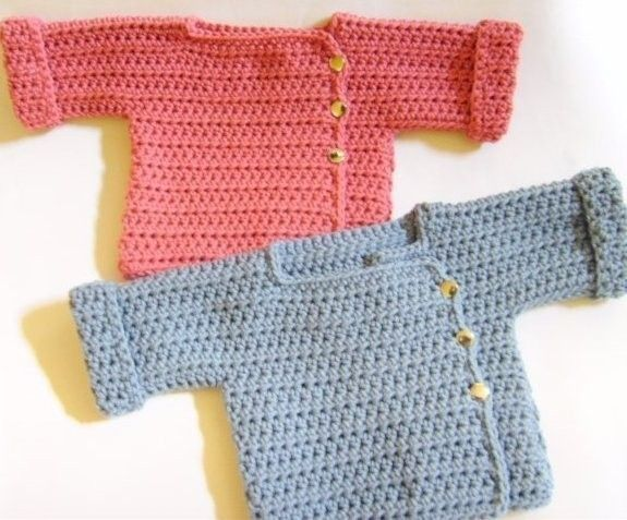 FREE CROCHET PATTERN BABY BOY SWEATER | Original Patterns