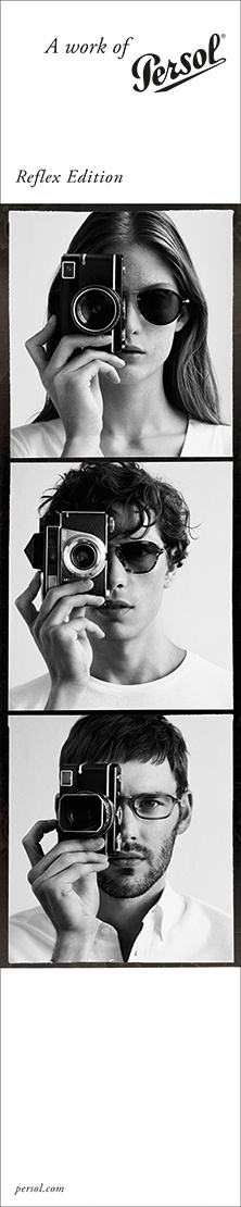 Reflex Edition :: Inspired by a half-century of camera innovation :: Discover the collection @ www.persol.com
