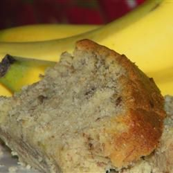 Best banana bread I ever made.  Go a little heavier on the sour cream cause yum