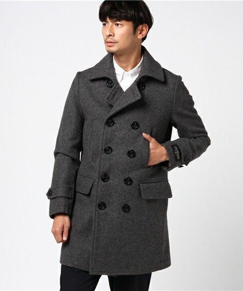 【ZOZOTOWN|送料無料】BEAMS LIGHTS Men's(ビームスライツ メンズ)のピーコート「BEAMS LIGHTS / メルトンロングピーコート」(51-19-0179-565)を購入できます。