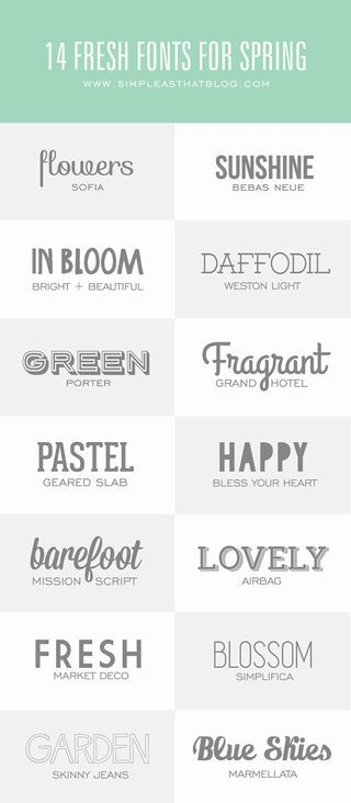 GOOD FONTS Bloglovin - Popular - DIY & Crafts - United States