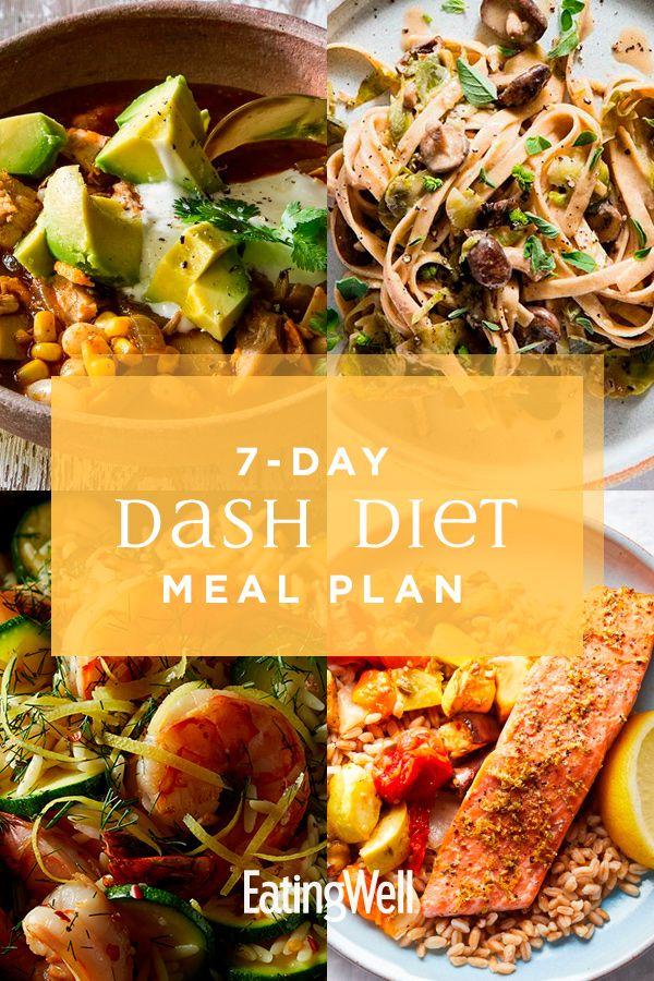 Dieser 1.200-Kalorien-DASH-Diät-Ernährungsplan hilft, Ihren Blutdruck zu senken, …   – Best Diet Recipes for Weight Loss