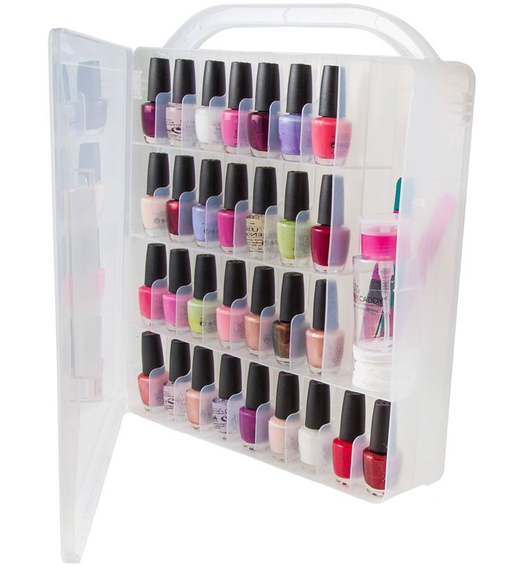 Best 25+ Nail Polish Organizer Case Ideas On Pinterest
