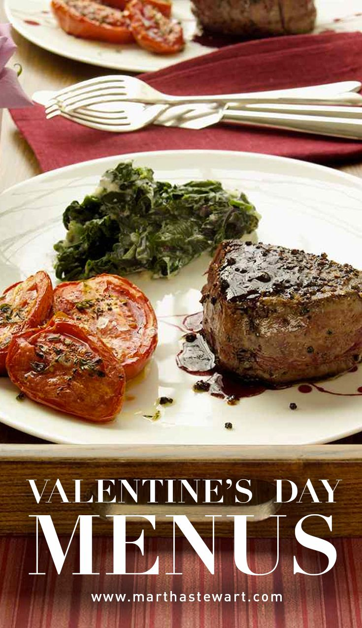 Valentine S Day Menus Martha Stewart Living Skip The Crowded Restaurant This Year And