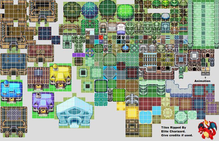 Zelda GBC & GBA Tiles