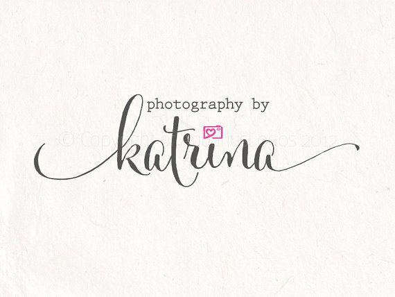 Premade Photography logo design and photography by AquariusLogos, $19.99