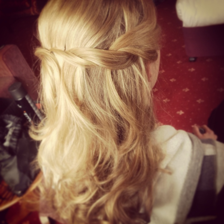 43 best images about wedding hair half up on pinterest