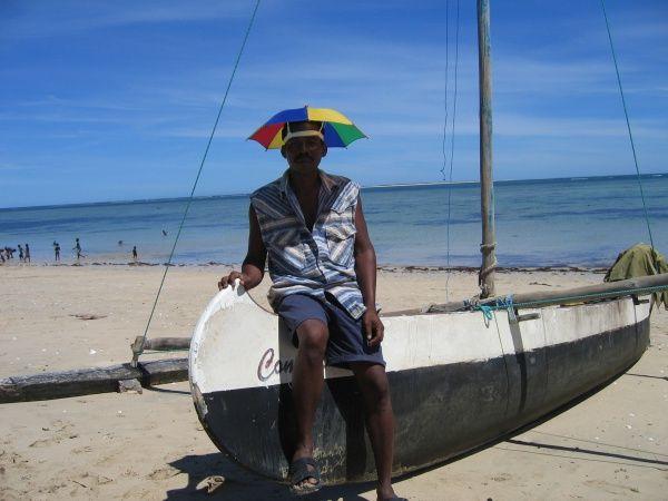 Vezo fisherman in Anakao