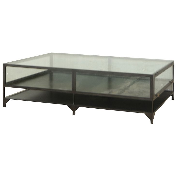 Four Hands Shadow Box Coffee Table Industrial Cool Furniture Pinterest Industrial