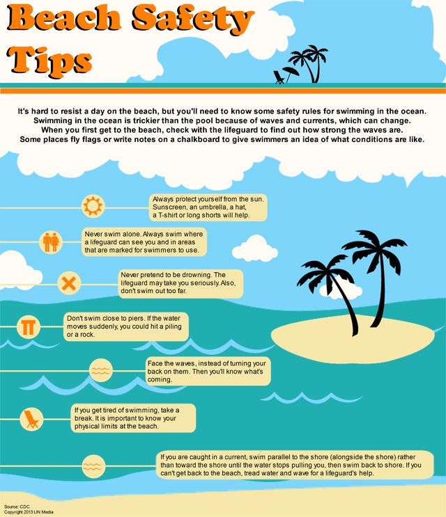 151 best Beach and Water Safety Tips images on Pinterest ...