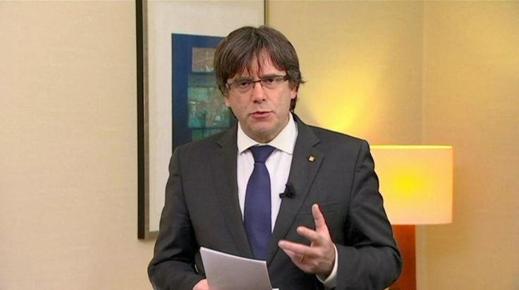 カタルーニャ州前首相、スペイン検察が逮捕令状請求