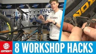 8 Pro Mountain Bike Maintenance Hacks | MTB Maintenance - VIDEO - http://mountain-bike-review.net/mountain-bike-reviews/8-pro-mountain-bike-maintenance-hacks-mtb-maintenance-video/ #mountainbike #mountain biking