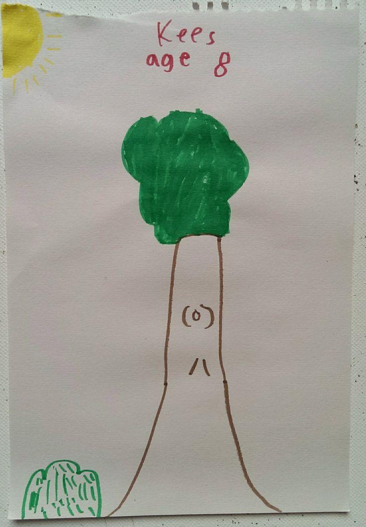 Tall Tree                                                         Artist: Kees, Age 8