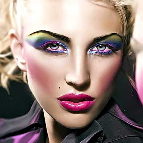maquillaje epoca carnaval