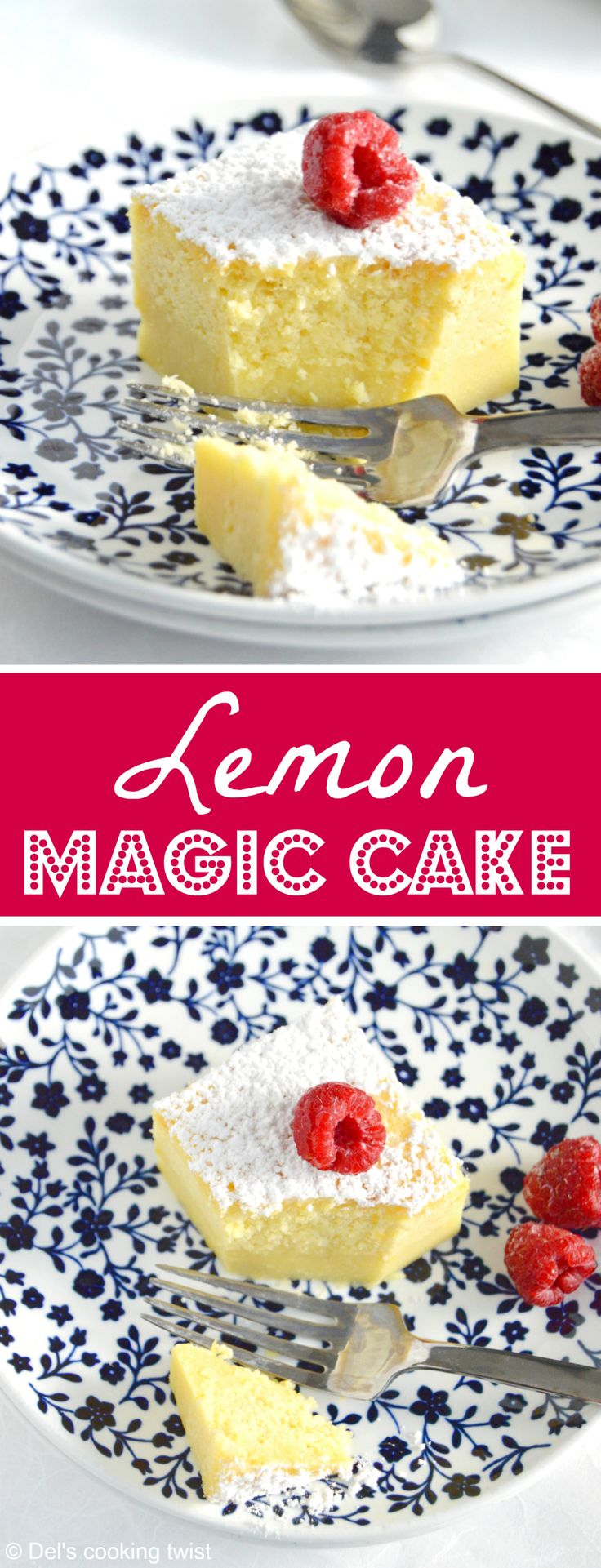 One single batter, a little bit of magic, and you get a wonderful cake with 3 different textures. This recipe is a must try! | Del's cooking twist