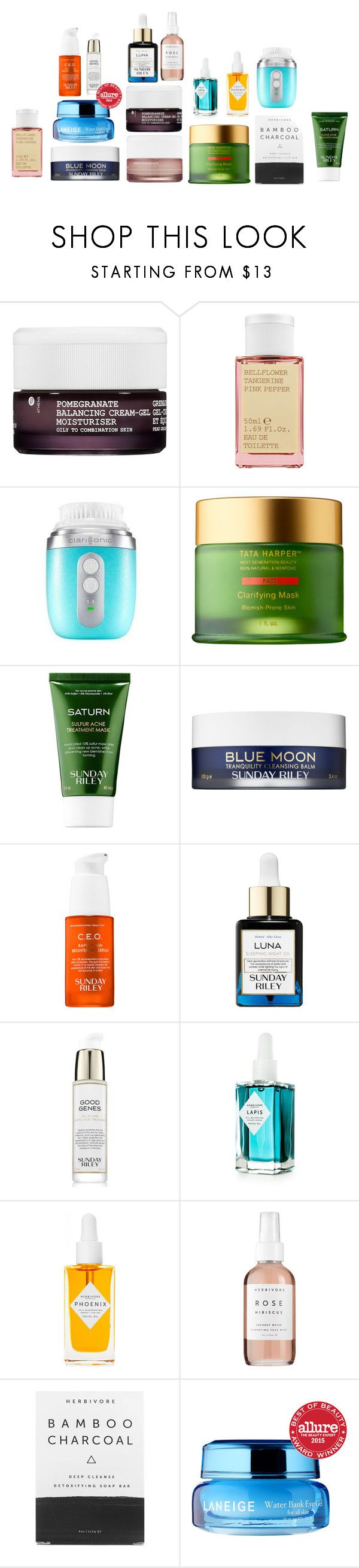 """Must Haves"" by orejinoro on Polyvore featuring beauty, Korres, Tata Harper, Sunday Riley, Herbivore and Laneige"