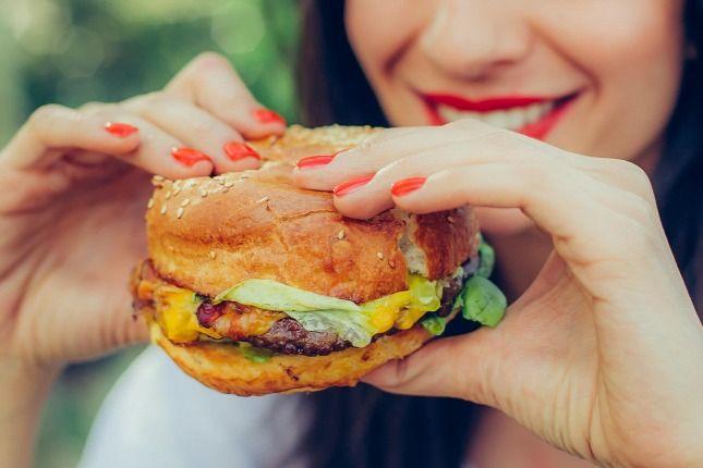 Fogyjon hamburgerrel!