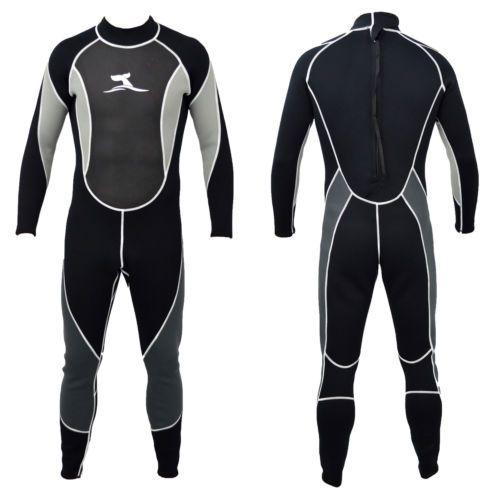 3mm-Herren-Neoprenanzug-Groessenauswahl-von-M-bis-XXL-Surfanzug-Schwimmanzug-NEU