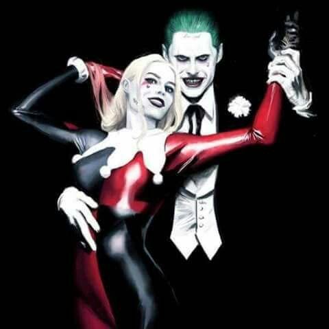 3D Harley Quinn doppelklicken von Batman and Rotkehlchen