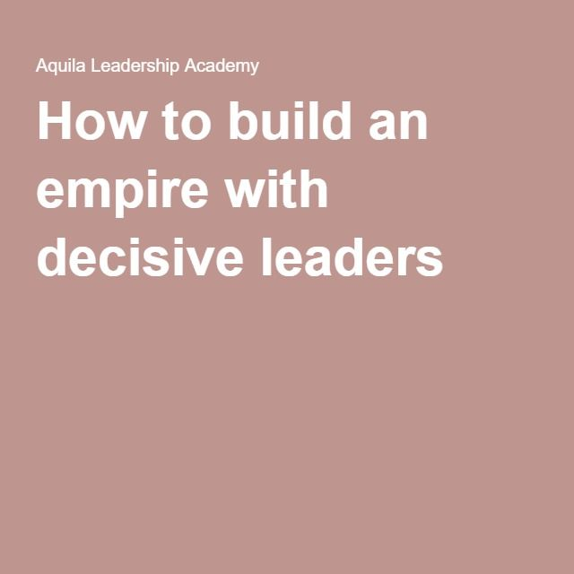 How to build an empire with decisive leaders. The leadership circle. The Now Habit. Pomodoro Technique. Worry Management. Mental fitness.
