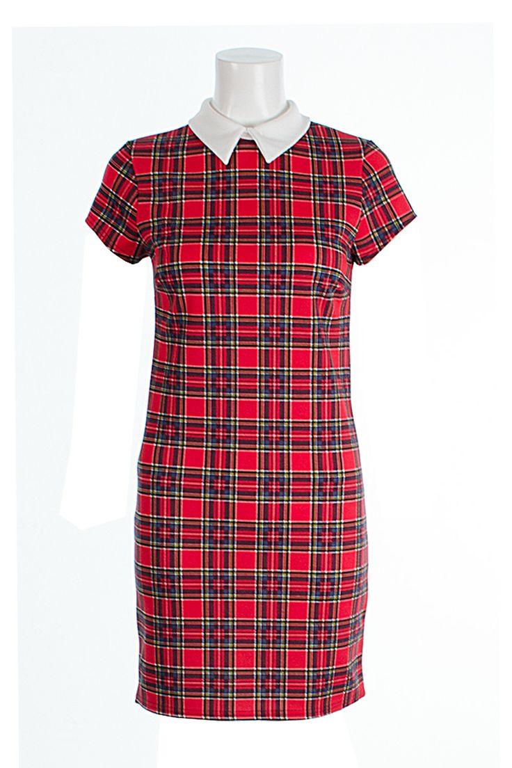 Amelia Red Tartan Collared Dress http://www.fuchia.co.uk/products/clothing/dresses/amelia-red-tartan-collared-dress.aspx