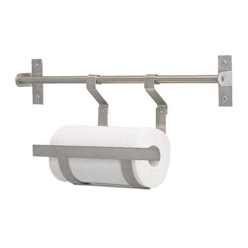 grundtal paper towel holder from ikea decorating