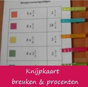 Knijpkaart: makkelijk om zelf te maken en te gebruiken in de klas