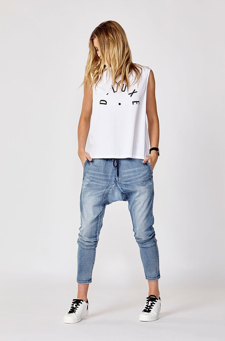 Creative The Fifth  You And Me Drop Crotch Pants Black  Neverland Store
