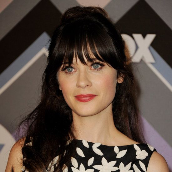 Zooey Deschanel's Vintage Hairstyle made easy with a spray like Evo Mr Fantastic.