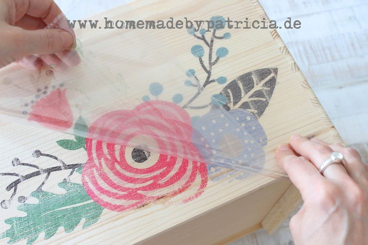 DIY: Bildtransfer per Tintenstrahldrucker – quick and easy – Homemade by Patricia