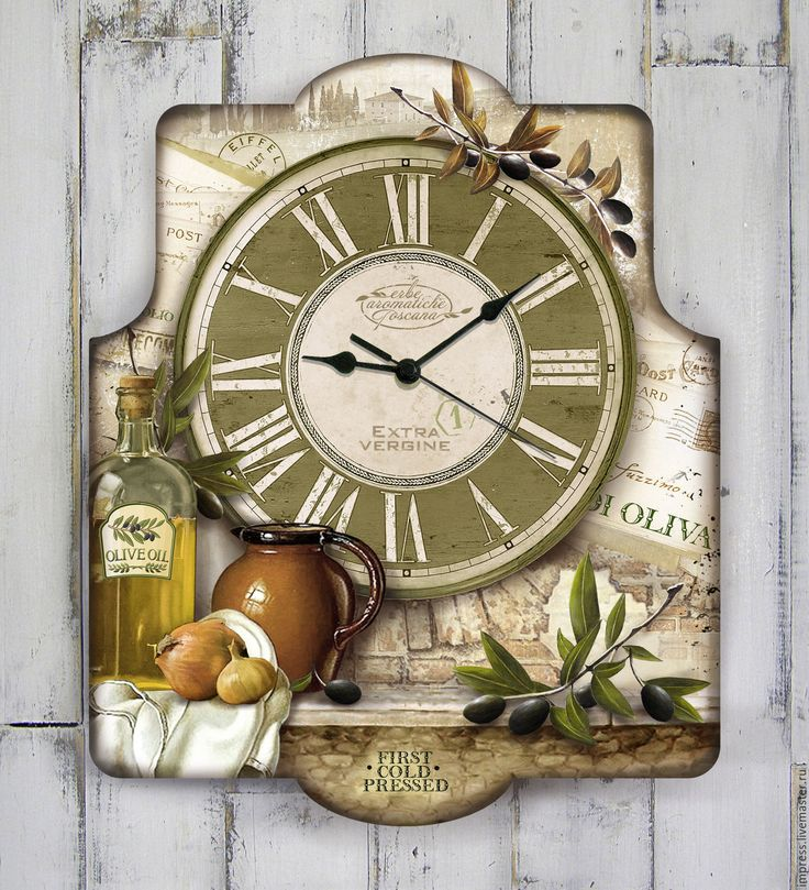 Купить часы настенные Тоскана - часы, часы настенные купить, тоскана, прованс, винтаж