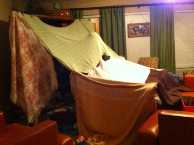 Best Blanket Fort Ever