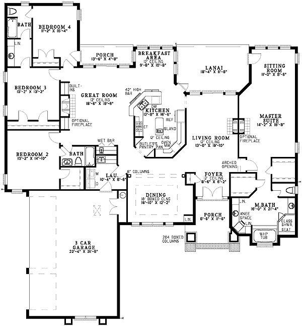 Award Winning Plans 4 Bedroom: Best 25+ Rambler House Plans Ideas On Pinterest