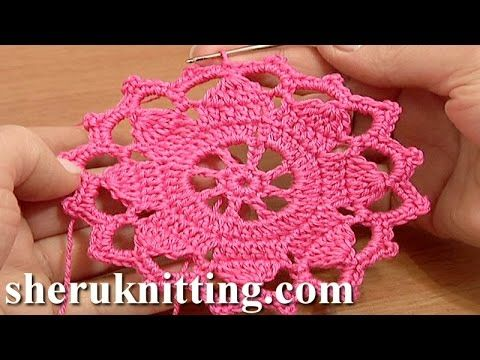 Get the more patterns at http://sheruknitting.com/ A very unique flat double sided crochet lace tape. The simple crochet round motif was taken as a base for ...