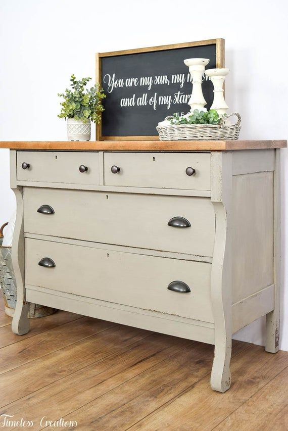 Diy Furniture Makeover Dresser Transformation