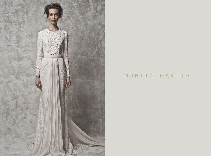 Malaysia bridal gown designer
