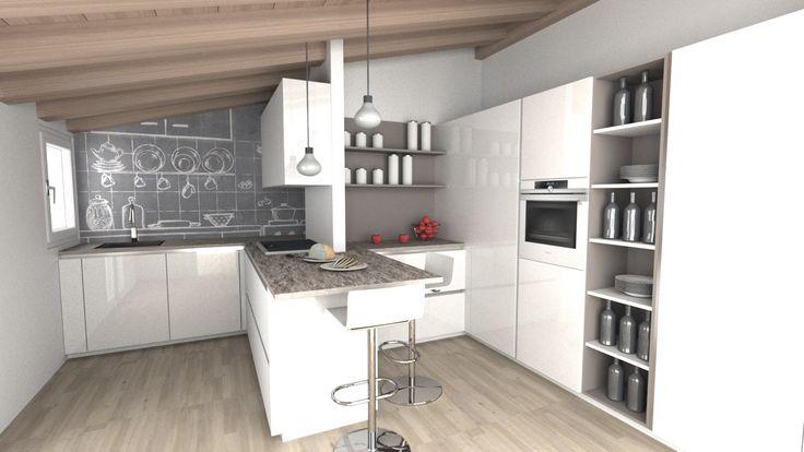 Per avere successo, i progetti debbono essere incentrati sui desideri (Nido Qubein)  #new #project #kitchen #passion #rossimobili #botticino