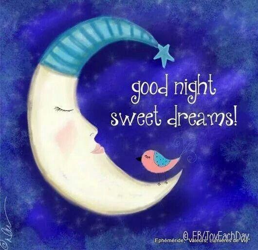☆Good night☆°°☆•♡♢♡•☆°°Sweet dreams☆