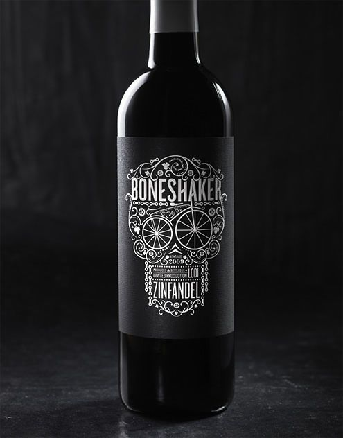 Boneshaker Hahn Family Wines Wine Label & Package Design