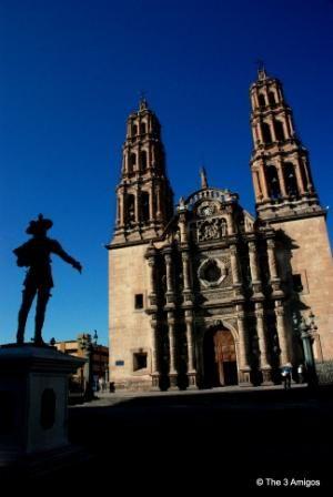 Chihuahua City main cathedral