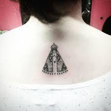Resultado de imagem para tatuagem de nossa senhora aparecida feminina